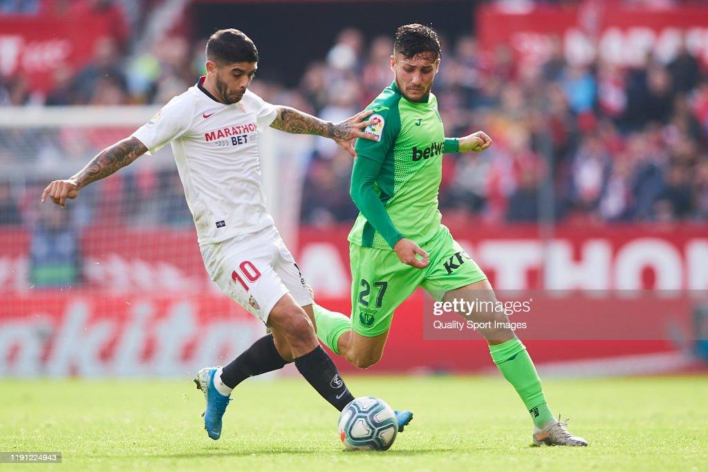 Sevilla FC v CD Leganes  - La Liga : Fotografía de noticias