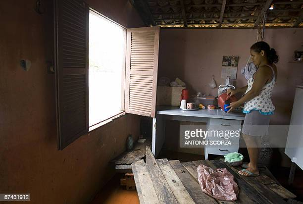 Everalda Pereira da Silva, a 40-year-old woman who has been a resident of Trizidela do Vale, a small town on the banks of the Mearin river, for 17...