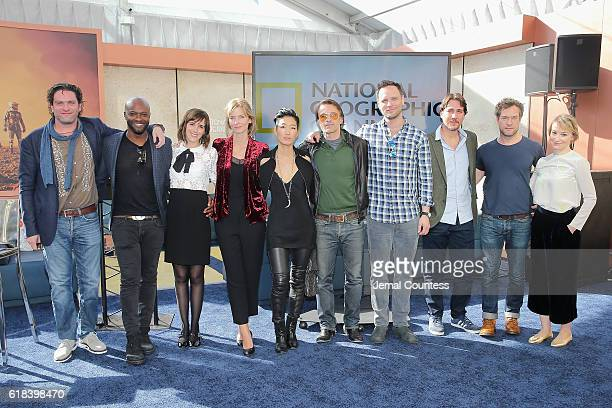 Everardo Gout Sammi Rotibi Clementine Poidatz Cosima Shaw Jihae Olivier Martinez Ben Cotton Alberto Ammann John Light and Anamaria Marinca attend the...