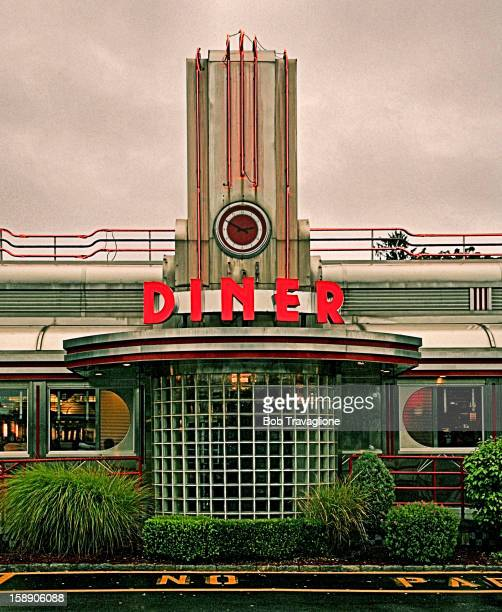 Eveready Diner - Plenty of Classic Style - Neon, Chrome, Oval Windows at 4184 Albany Post Road, Hyde Park, NY 12538