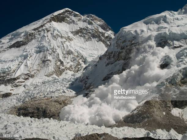 Everest campamento Base avalancha