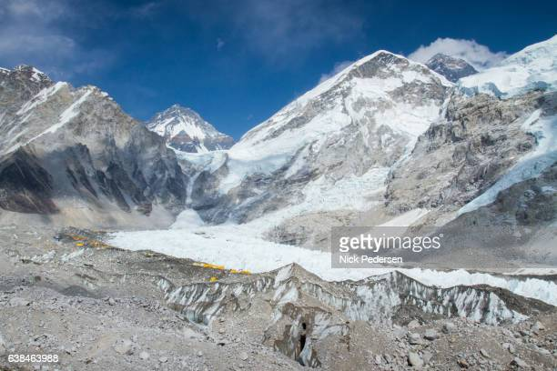 Everest Base Camp in Nepal Himalayas