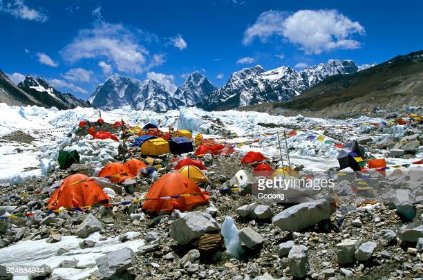 Everest base camp Solu Khumbu Nepal