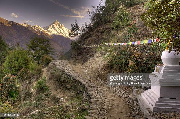 everest base camp trek, nepal - base camp stock pictures, royalty-free photos & images