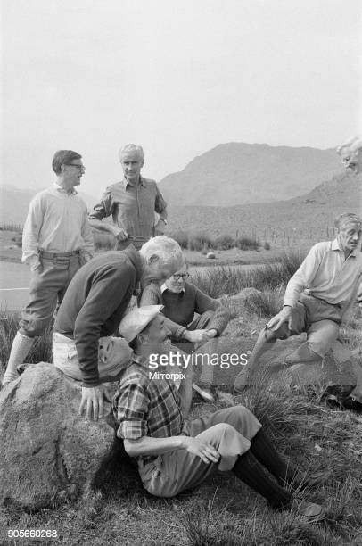 Everest Men at Reunion Picture taken at The PenyGrwd Training base at Capel Curig north Wales 26th May 1973 It is 20 years on from the 1953 Everest...