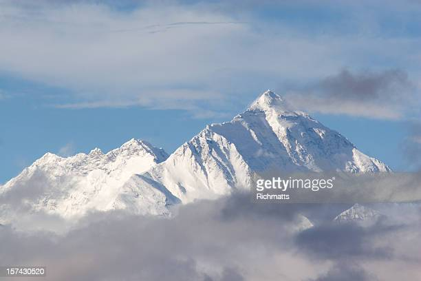 Everest Mountain , Tibetan Side.