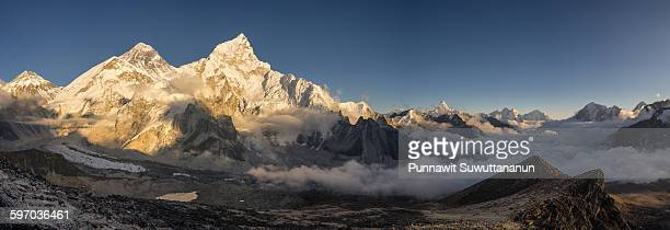 Everest mountain view from Kalapattar view point