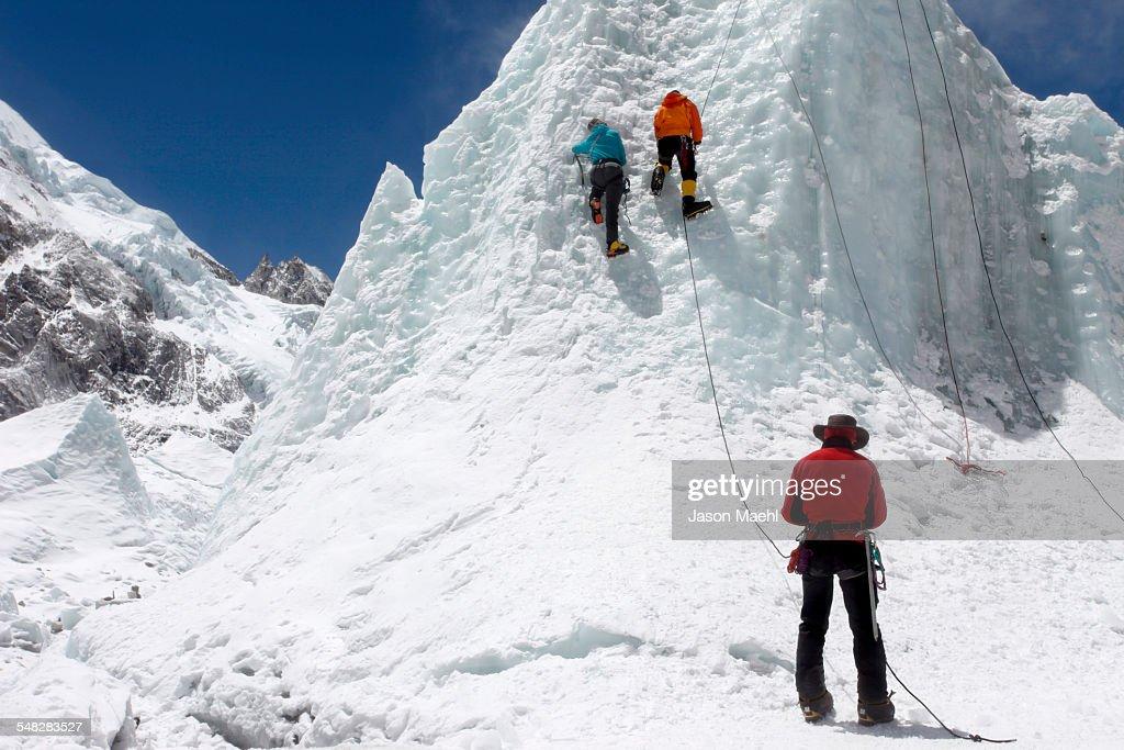 Everest Mountaineers - Nepal : Stock-Foto