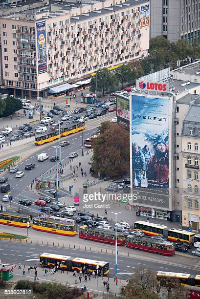 Everest movie billboard in Warsaw, Poland