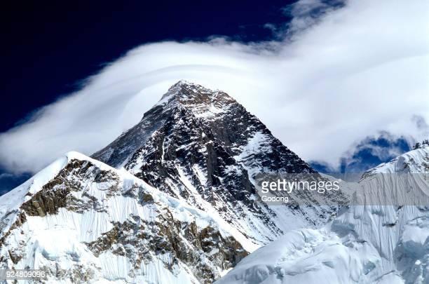 Everest summit Solu Khumbu Nepal