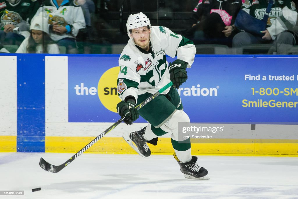 WHL: MAY 09 WHL Championship - Swift Current Broncos at Everett Silvertips : News Photo