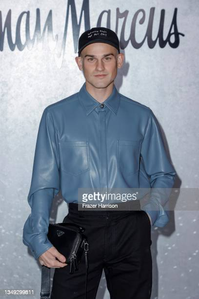 """Everett Williams attends the Neiman Marcus Celebrates The Launch Of Their """"Celebrate Big, Love Even Bigger"""" Holiday Campaign With 2021 Fantasy Gift..."""