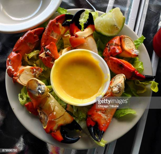 Everglades City Fla is the Stone Crab Capital of the World Crab claws are served in restaurants in season midOctober to midMay
