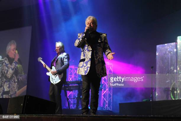 Evergreen Australian soft rock duo Air Supply consisting of singersongwriter and guitarist Graham Russell and lead vocalist Russell Hitchcock while...