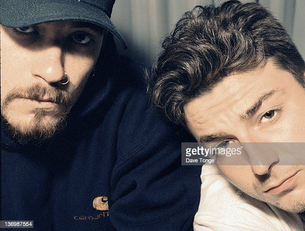 Everlast and DJ Lethal of American hip hop group House of Pain Los Angeles United States September 1992