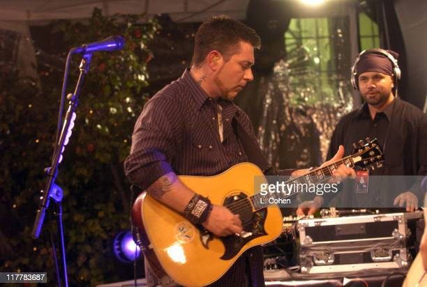 Everlast during Everlast Special Performance for his New Album 'White Trash Beautiful' at Playboy Mansion in Los Angeles California United States
