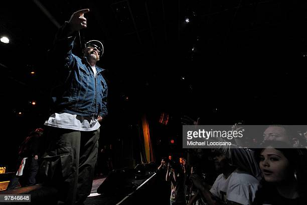 Everlast of House of Pain performs at Nokia Theatre on March 18 2010 in New York City