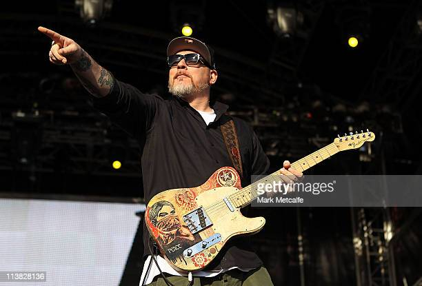 Everlast of House of Pain performs on stage at the Groovin The Moo Festival on May 7 2011 in Maitland Australia