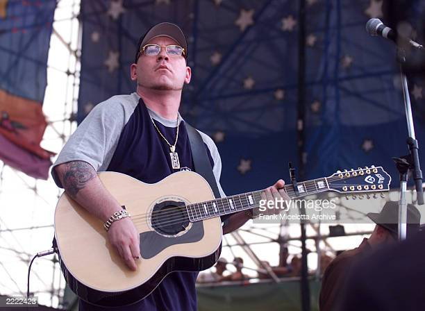 Everlast performs at Woodstock '99 in Griffiss AFB in Rome New York They are among over 45 bands performing on four stages July 2325