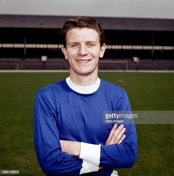 Everton and England defender Brian Labone looks on at Goodison Park circa 1962. Labone played over 450 games for Everton and 26 times for England.