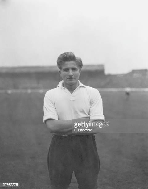 Everton centreforward Dave Hickson 20th September 1954