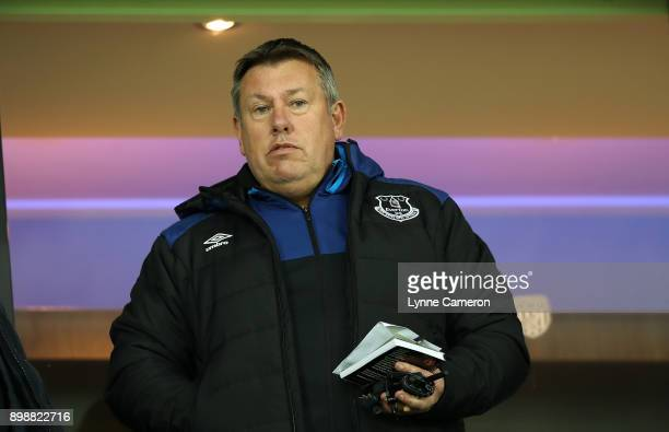 Everton coach Craig Shakespeare in the stands during the Premier League match between West Bromwich Albion and Everton at The Hawthorns on December...