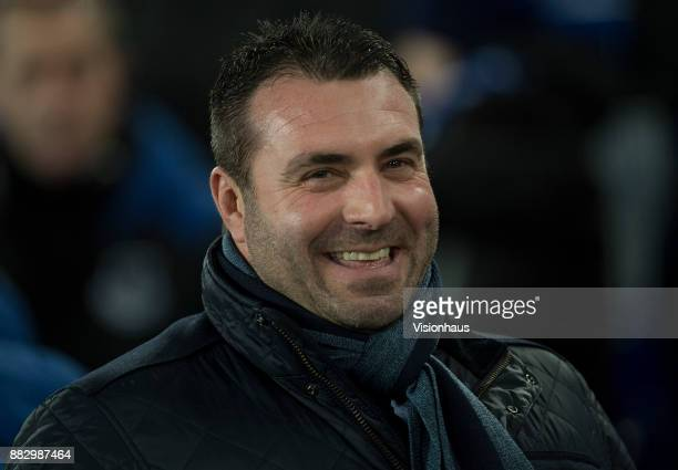 Everton coach David Unsworth before the UEFA Europa League group E match between Everton FC and Atalanta at Goodison Park on November 23 2017 in...