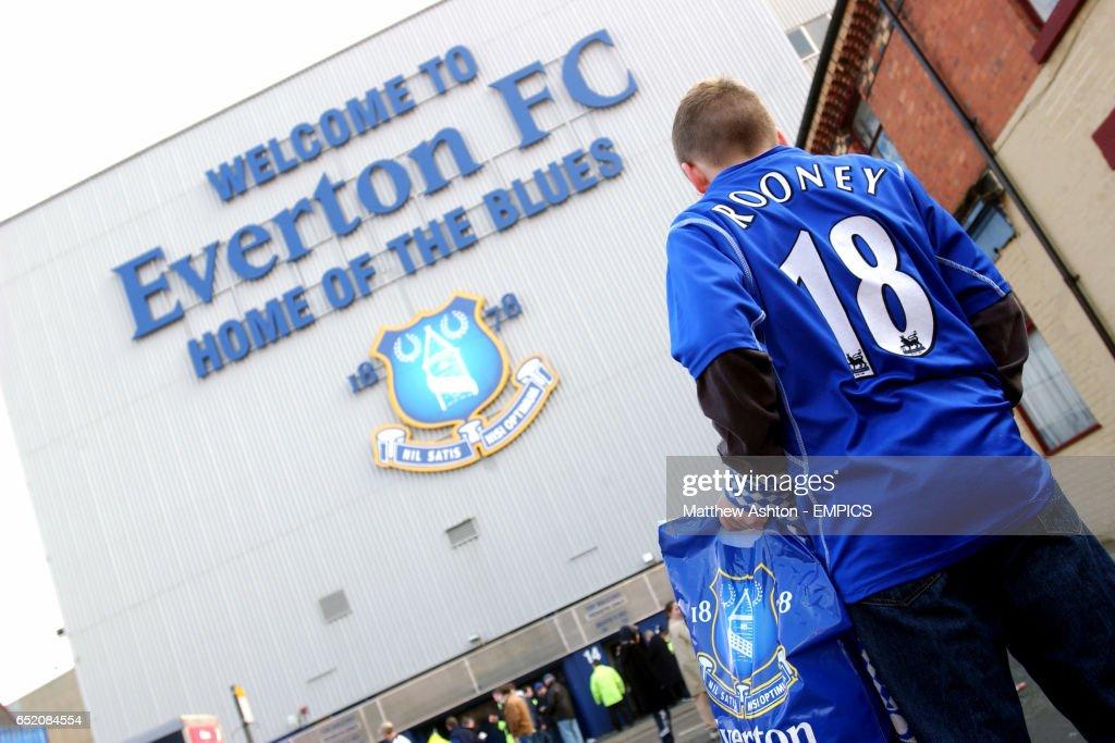 Soccer - FA Barclaycard Premiership - Everton v  Southampton : News Photo
