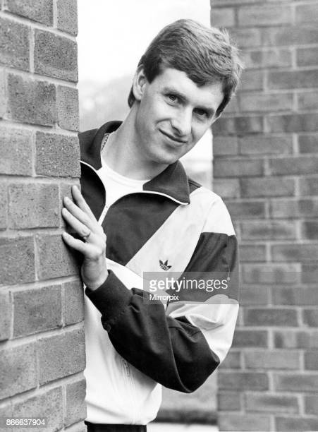 Everton footballer Kevin Sheedy at a club training session 19th May 1985