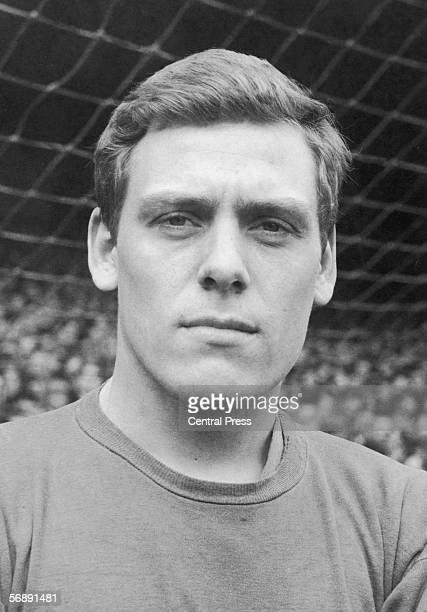 Everton goalkeeper Gordon West who also played for the England national side April 1966