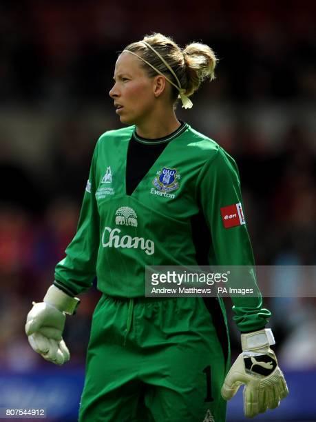Everton goalkeeper Rachel Brown