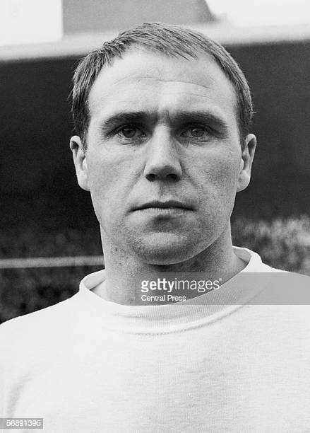 Everton left back Ramon Wilson wearing his England shirt, 1965. He was part of the England team that won the World Cup in 1966.