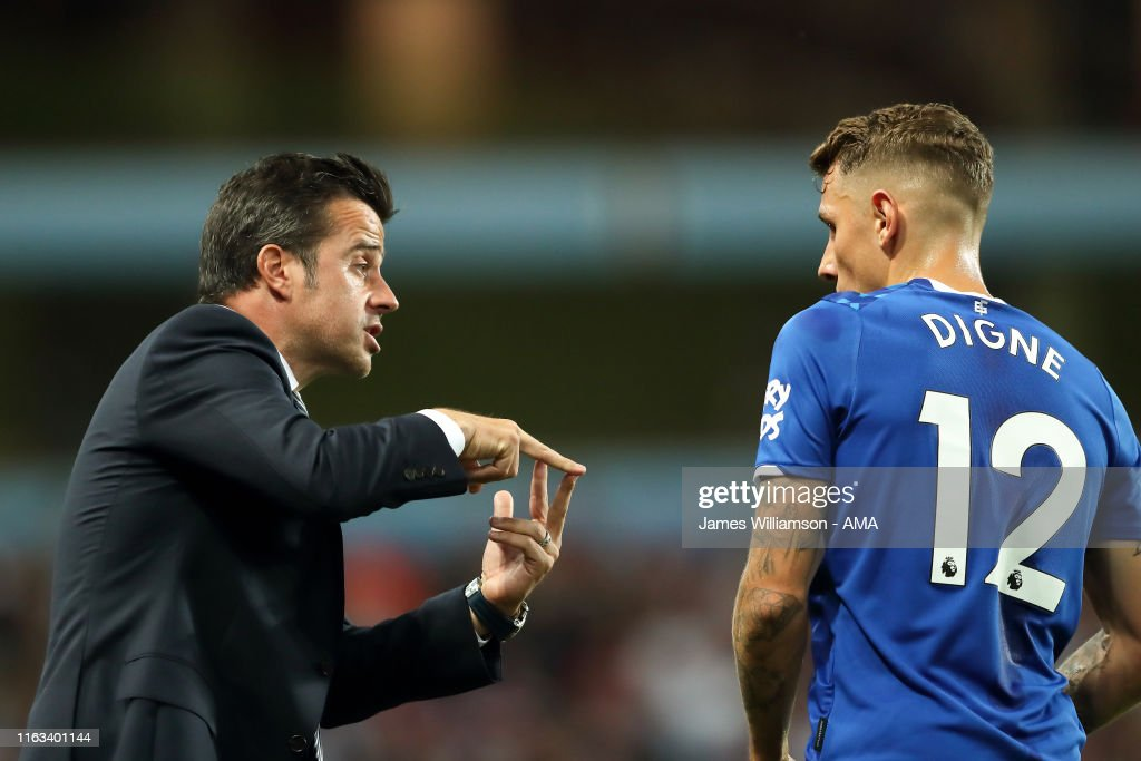 Aston Villa v Everton FC - Premier League : News Photo