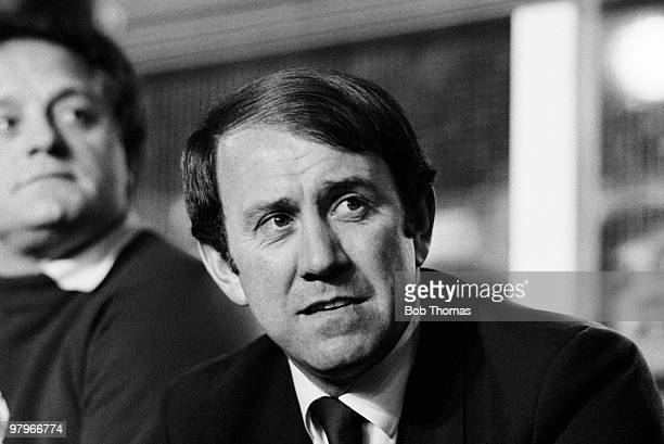Everton manager Howard Kendall during the Everton v Bayern Munich European Cup Winners Cup Semi-Final 2nd leg match played at Goodison Park,...