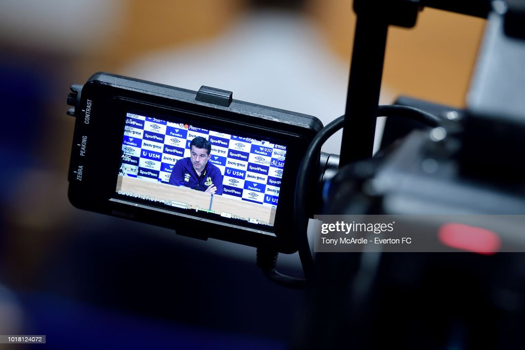 Everton Manager's Press Conference