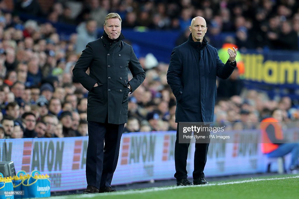 Everton v Swansea City - Premier League - Goodison Park : News Photo