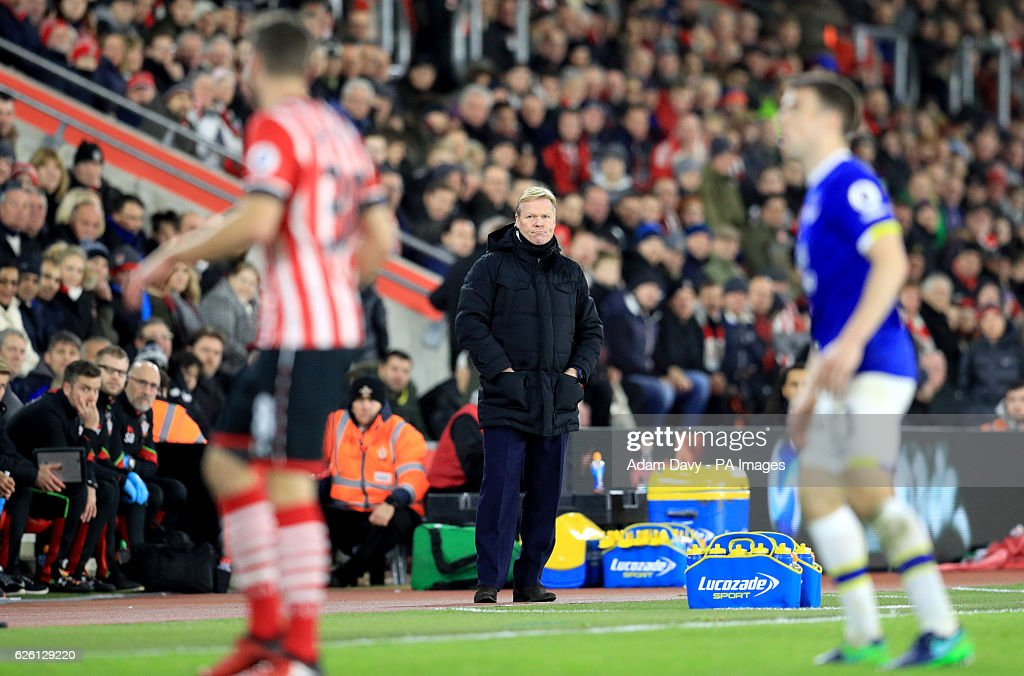Southampton v Everton - Premier League - St Mary's Stadium : News Photo