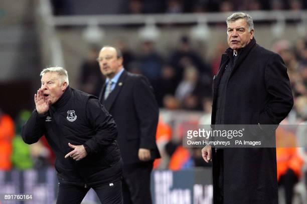 Everton manager Sam Allardyce during the Premier League match at St James' Park Newcastle