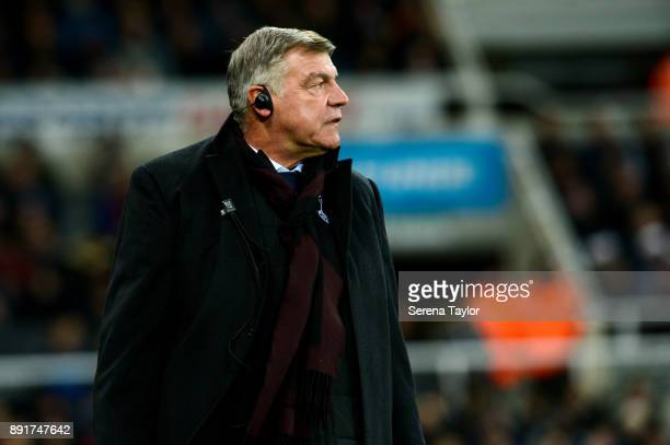 Everton Manager Sam Allardyce during the Premier League Match between Newcastle United and Everton at StJames' Park on December 13 in Newcastle upon...
