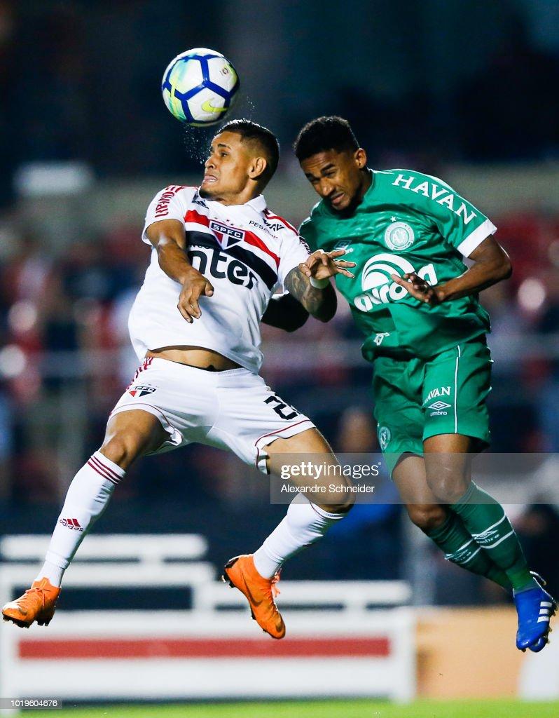 Sao Paulo v Chapecoense - Brasileirao Series A 2018