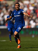 swansea wales everton player cenk tosun
