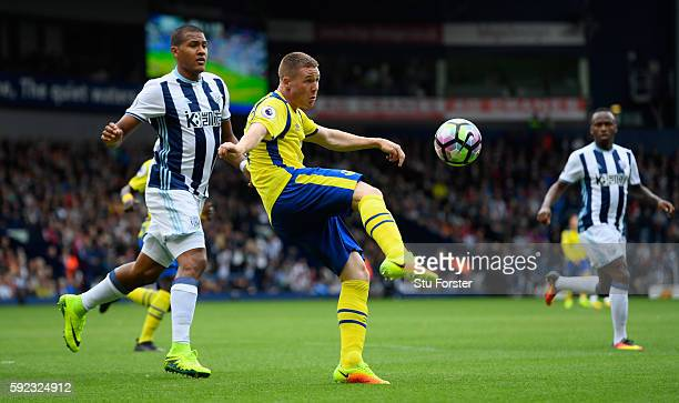 Everton player James McCarthy in action during the Premier League match between West Bromwich Albion and Everton at The Hawthorns on August 20 2016...