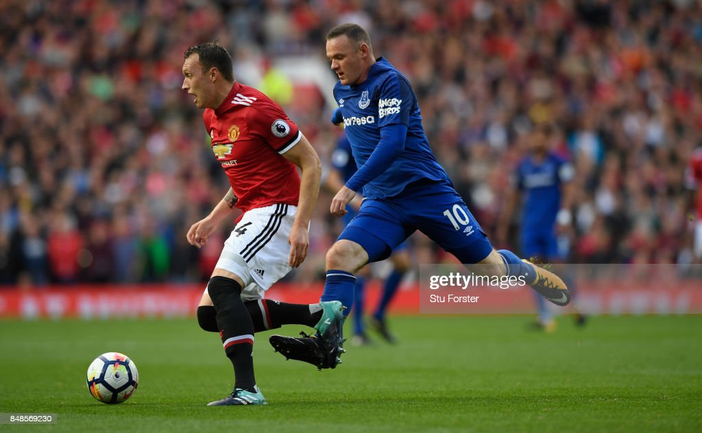 Manchester United v Everton - Premier League : Fotografía de noticias