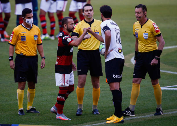 BRA: Flamengo v Atletico MG Play Behind Closed Doors the First Round of the 2020 Brasileirao Series A Amidst the Coronavirus (COVID - 19) Pandemic