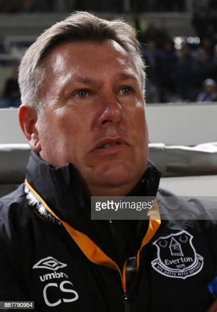 Everton's assistant coach Craig Shakespeare attends the UEFA Europa League group stage football match between Apollon Limassol and Everton at the GSP...