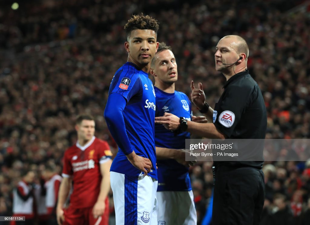 Liverpool v Everton - FA Cup - Third Round - Anfield : News Photo