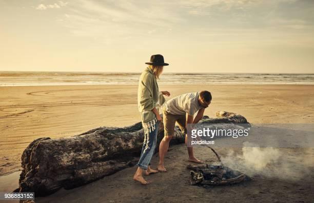 Every campsite needs a campfire