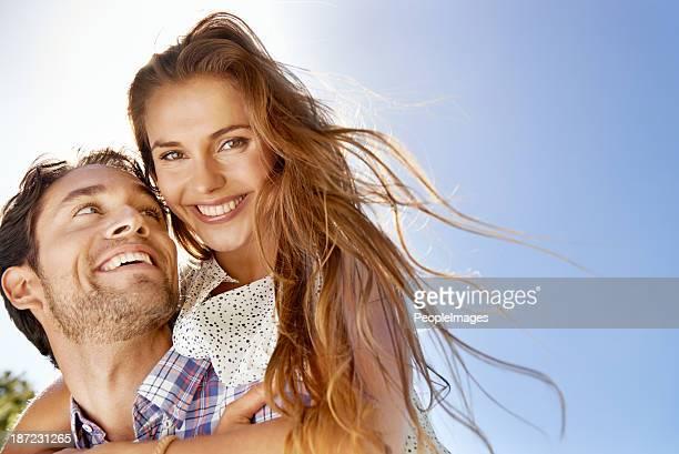 Jeder Tag ist sonnig, wenn Sie geschäftlich in love!