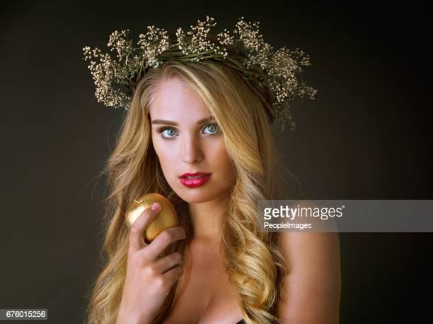Every goddess deserves gold