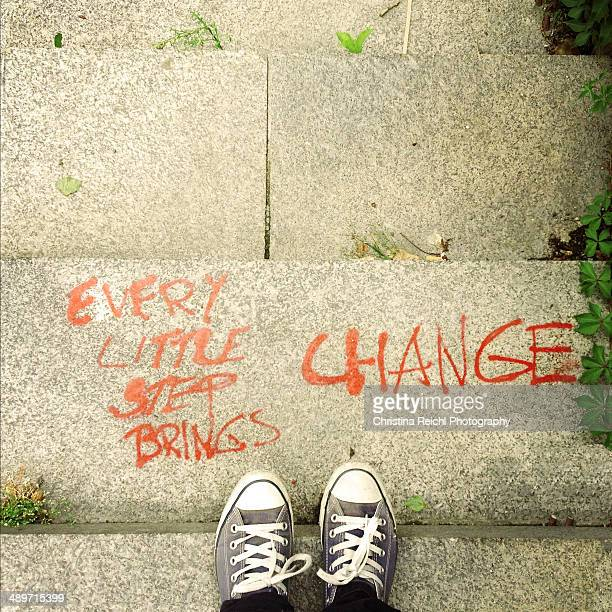 Every Little Step Brings Change